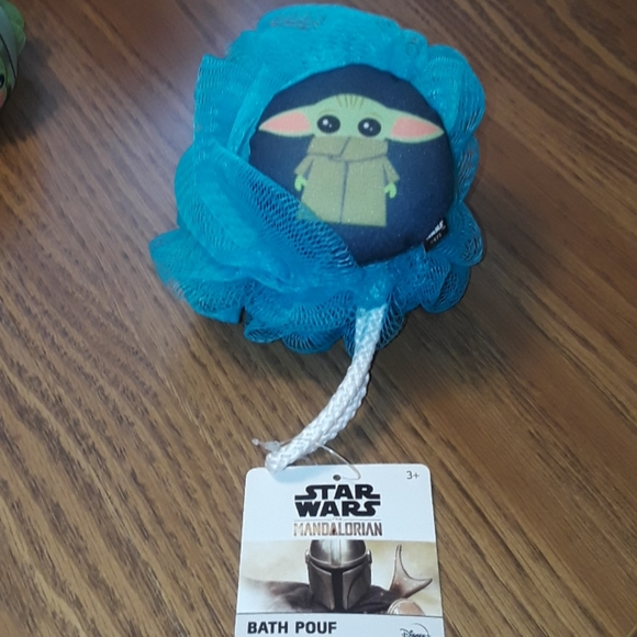 Star wars bath pouf/ BUNDLE ONLY